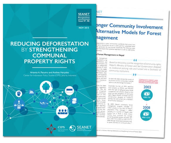 Reducing deforestation by strengthening communal property rights